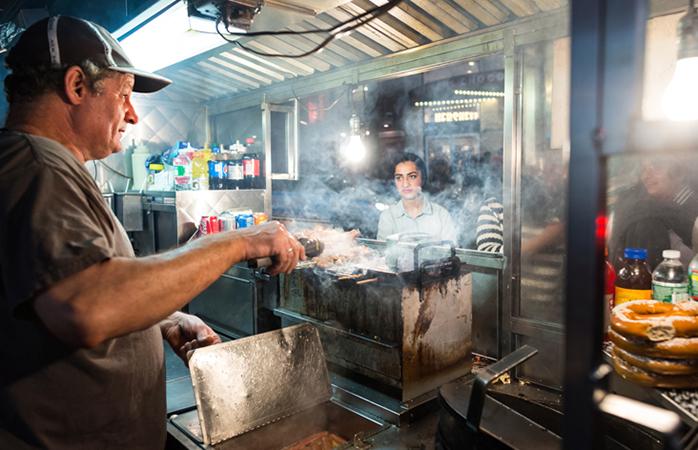 Un food truck new-yorkais.