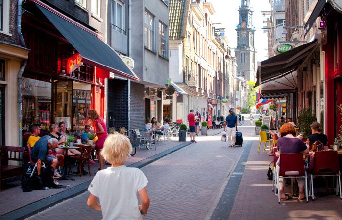visiter Amsterdam - Tweede Tuindwarsstraat