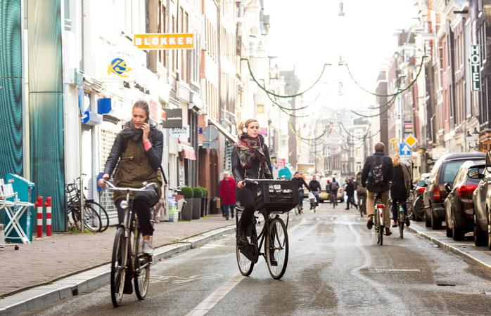 visiter Amsterdam - Haarlemmerdijk