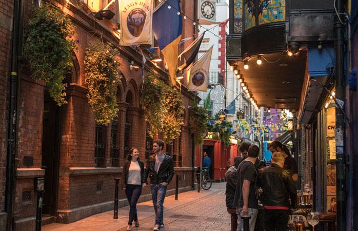 Impossible de visiter Dublin sans s'arrêter dans un pub.