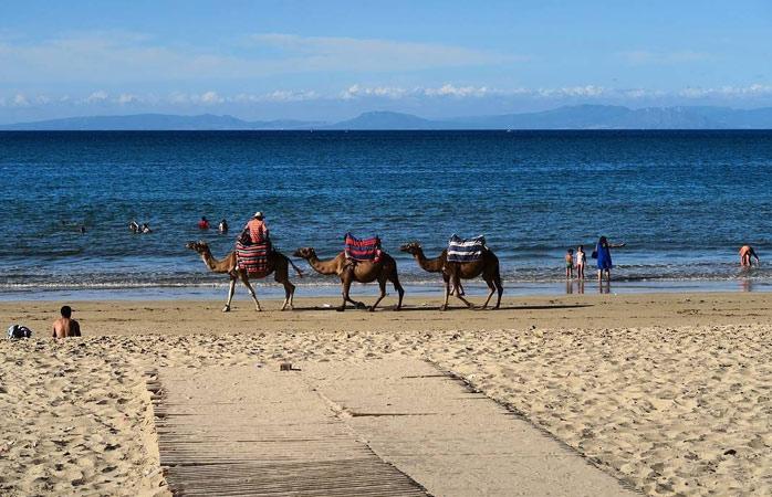L'endroit idéal pour une balade en bord de mer - Tanger, Maroc