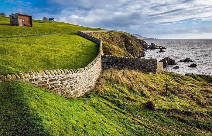 Splendeur naturelle sur les îles Shetland