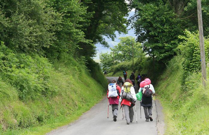 La voie du Puy en Velay est l'une des plus empruntée en France