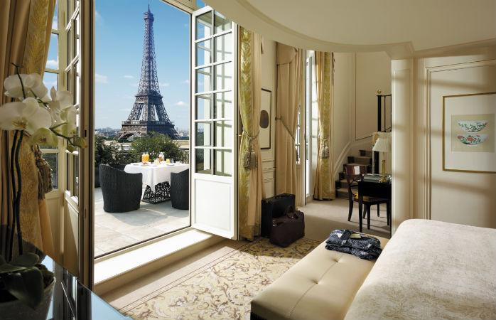 10 hôtels romantiques avec vue sur la Tour Eiffel