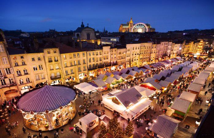 Meilleur Marché De Noel France Les plus beaux marchés de Noël en France en 2018 : 8 marchés à